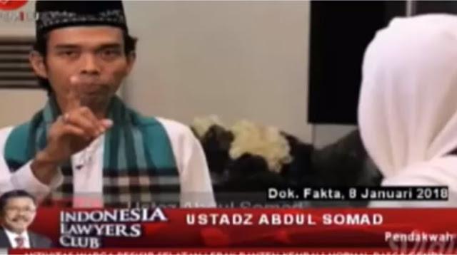 Cukup Datangkan Saja Ust Abdul Shomad di ILC, Kaum Bencong Pasti Pada Ngacir