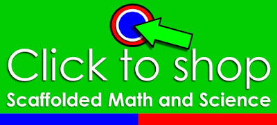 Scaffolded Math and Science TpT Store