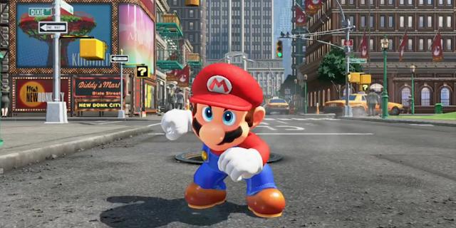 Nintendo Pamerkan Game Super Mario Odyssey