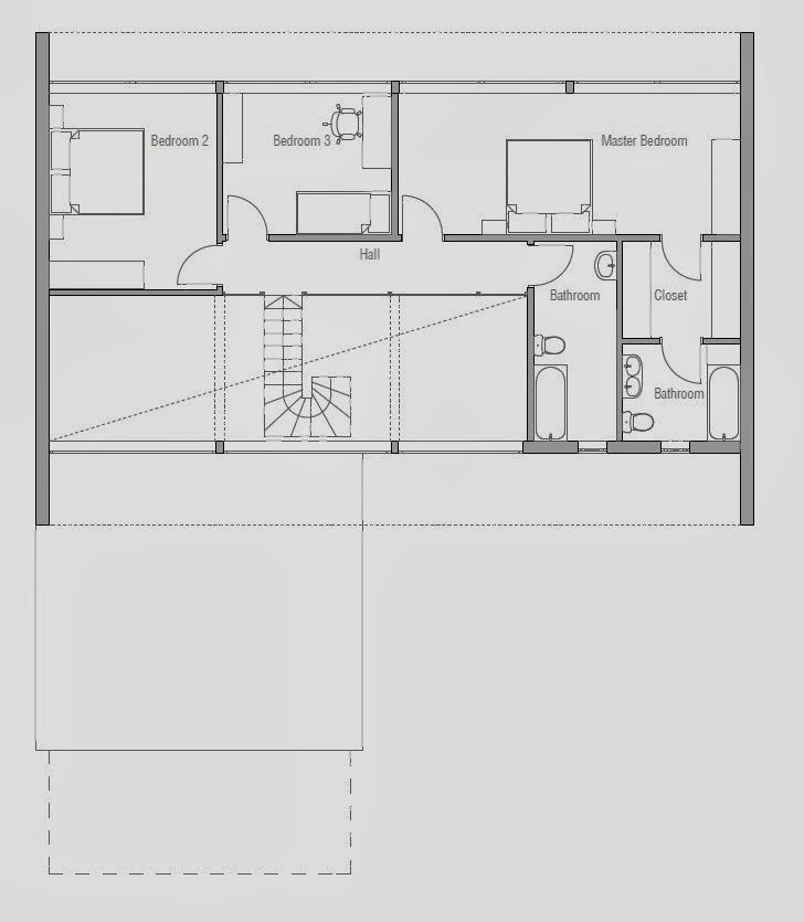 Co97 Modern Beach House Plan Beach House Plans