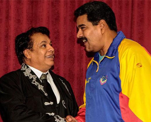 """Maduro recuerda cuando Juan Gabriel le cantó """"las mañanitas"""" (+Video)"""