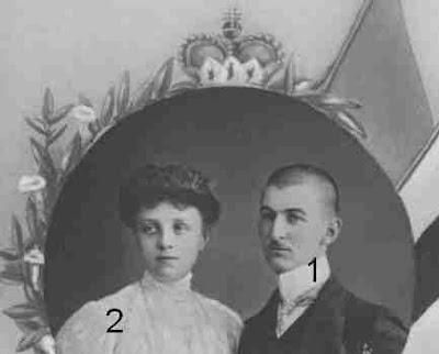 Chef des Hauses Sayn-Wittgenstein-Berleburg und seiner Frau