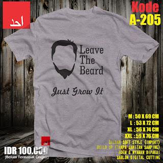 Leave The Beard Desain Baju Muslim