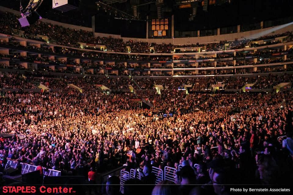 The Who Tour Staples Center