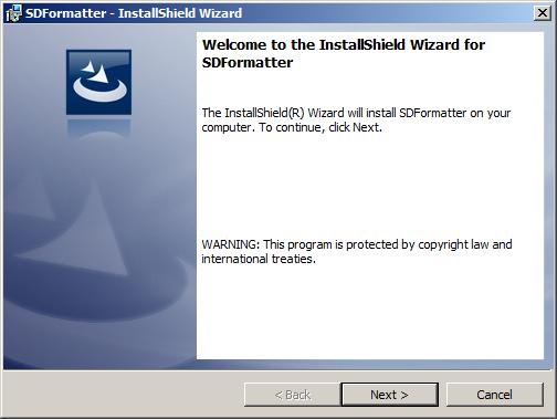 برنامج SDFormatter لعمل فورمات  لل USB و ال FLASH MEMORY بشكل أمن
