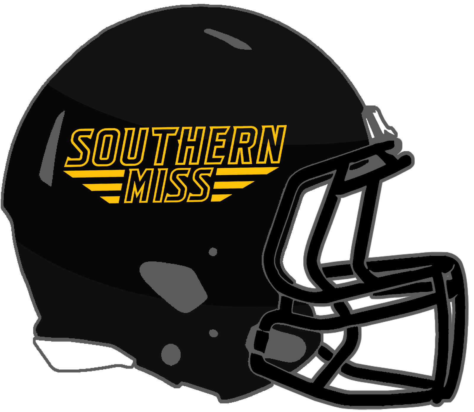 6f2f93f80ed In total, 8 helmet designs were worn by the Golden Eagles in 2017, all  featuring a shiny black shell and black facemask: