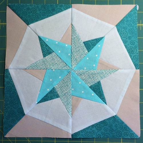 Woven Star Block Quilt - Tutorial