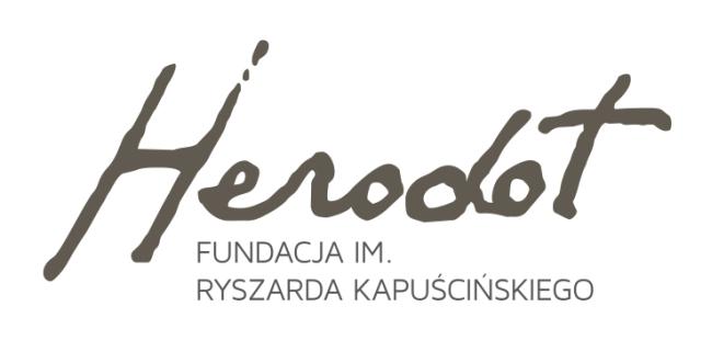 Logo Fundacji Herodot im. Ryszarda Kapuścińskiego