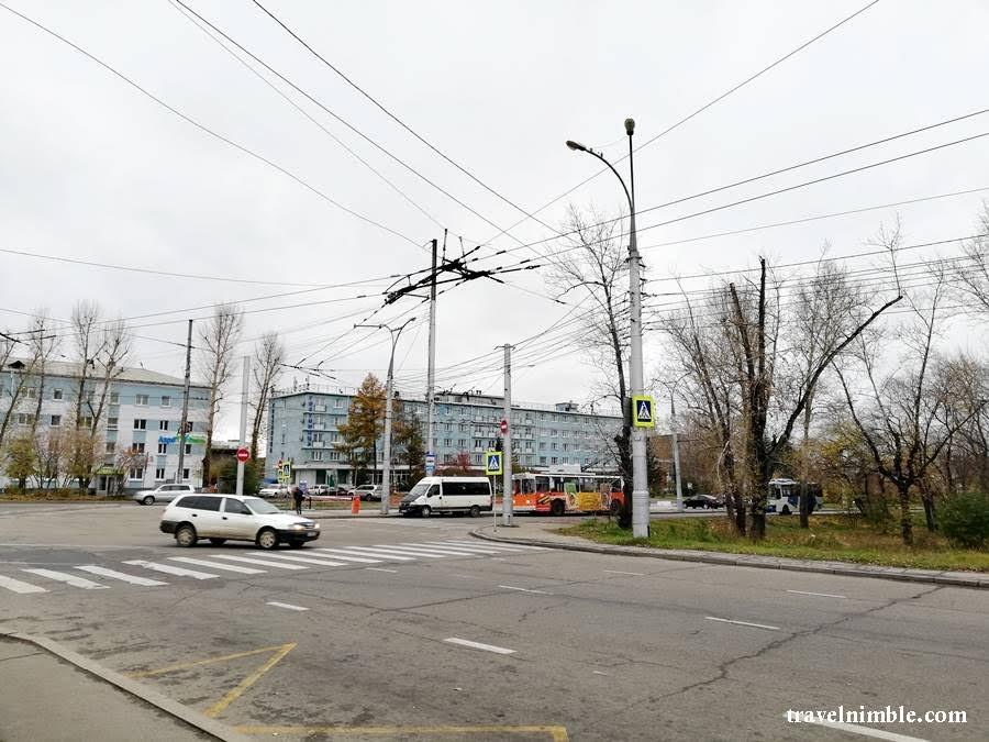 transportasi airport irkutsk ke bus station