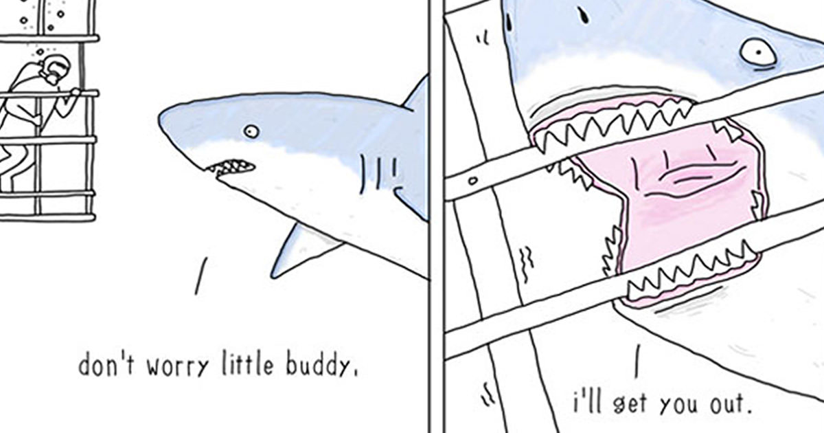30 Hilarious Comic Strips What Animals Would Say If They Could Talk (by Jimmy Craig)