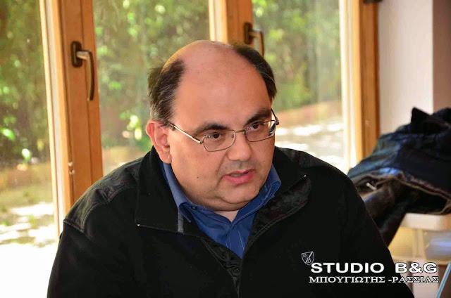 Έρχεται στο Άργος ο γενικός γραμματέας του ΕΠΑΜ Δημήτρης Καζάκης