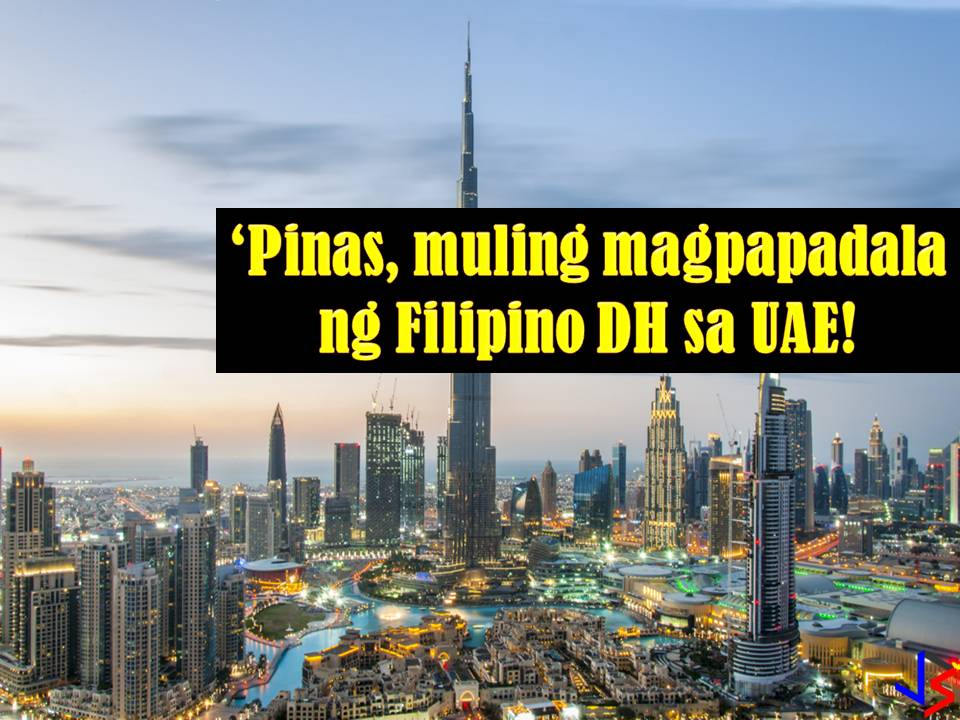 Will you apply for this work just in case the Philippines will lift the ban on Filipino domestic workers in the United Arab Emirates? According to Philippine Overseas Employment Administration (POEA), Administrator Bernard Olalia there is a possibility that the imposed ban will be lifted soon.