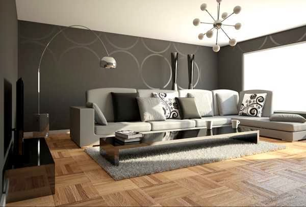 modern and sleek look bedroom decoration