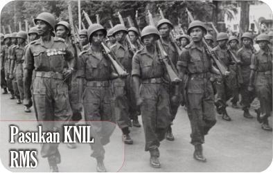 pasukan KNIL RMS