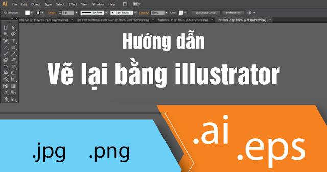 Hướng dẫn vẽ nhanh logo bằng Ai-Adobe illustrator