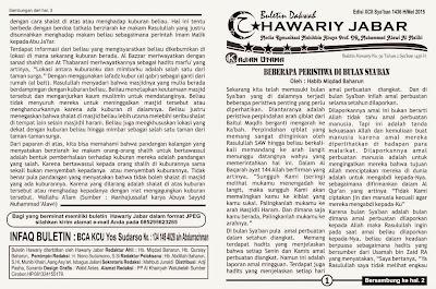 cetakan buletin hawariy jabar asli edisi 2015