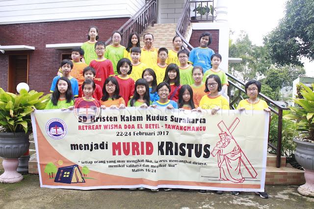 Retreat Kelas 6 SD Kristen Kalam Kudus Surakarta