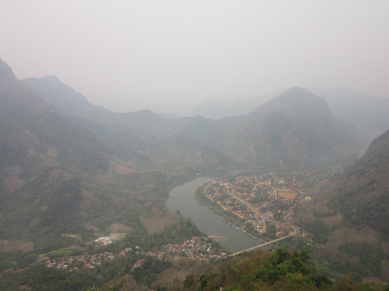 Mirador de Nong Khiaw, Laos