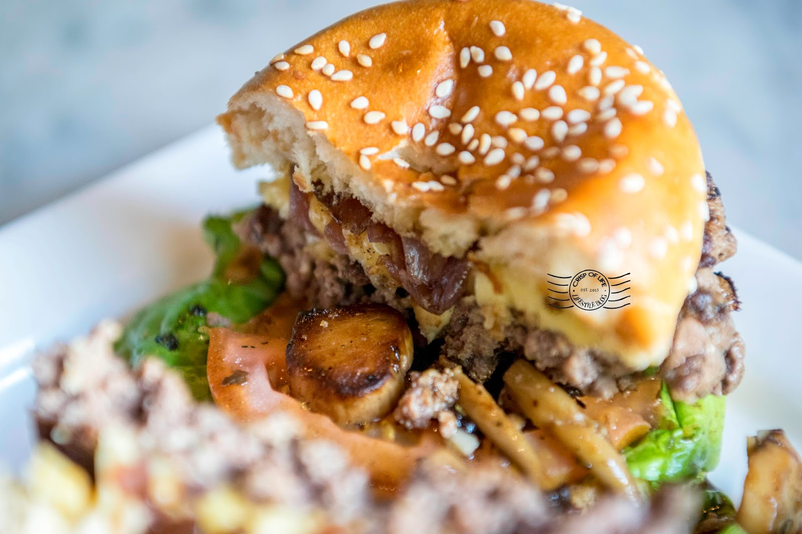 Junk Cafe burger chulia street penang