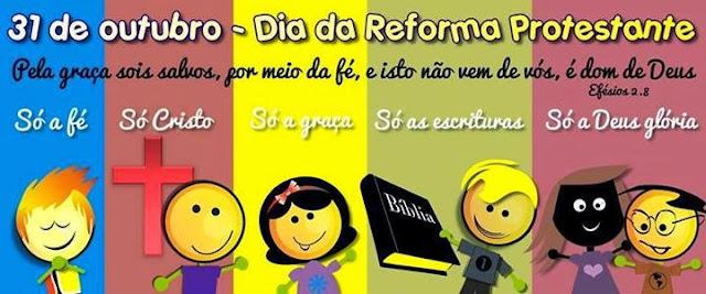 Resultado de imagem para 31 de outubro dia da reforma protestante