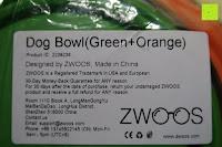 Info: ZWOOS Haustier Futternapf - Faltbar Reisenäpfe Schüssel Reisenapf Tragbare Hundenapf Katzennapf Fütterung Wassernapf Silikon Trinknapf Pet Bowl, 2 Stück