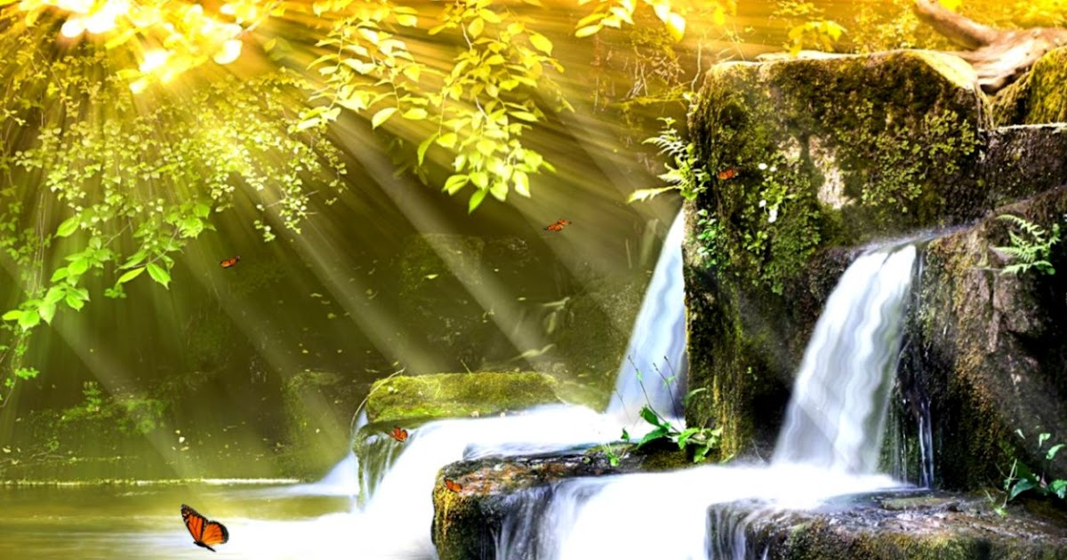 Animated Waterfalls Wallpapers Free Download Animated Nature Screensavers Best Hd Wallpapers
