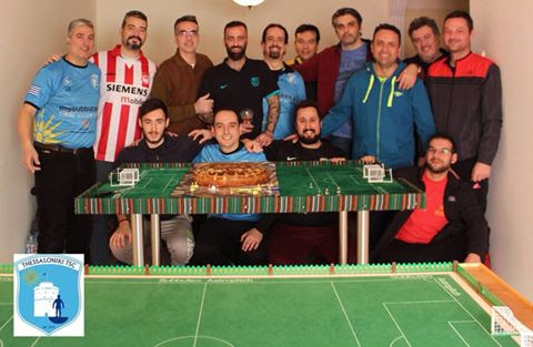 A great day for Thessaloniki Subbuteo Club