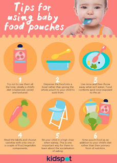 how to use a babyfood pouch