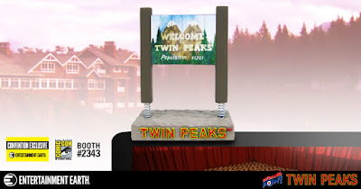 San Diego Comic-Con 2017 Exclusive Twin Peaks Sign Monitor Mate Bobble by Bif Bang Pow! x Entertainment Earth
