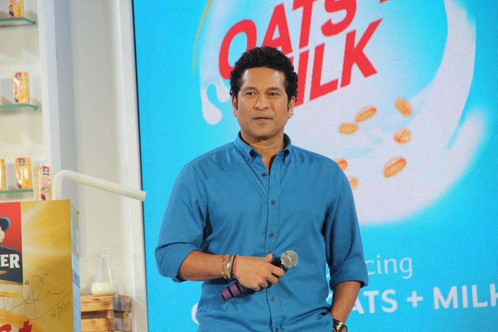Sachin Tendulkar At Quaker Oats Milk Shake Launch Gallery