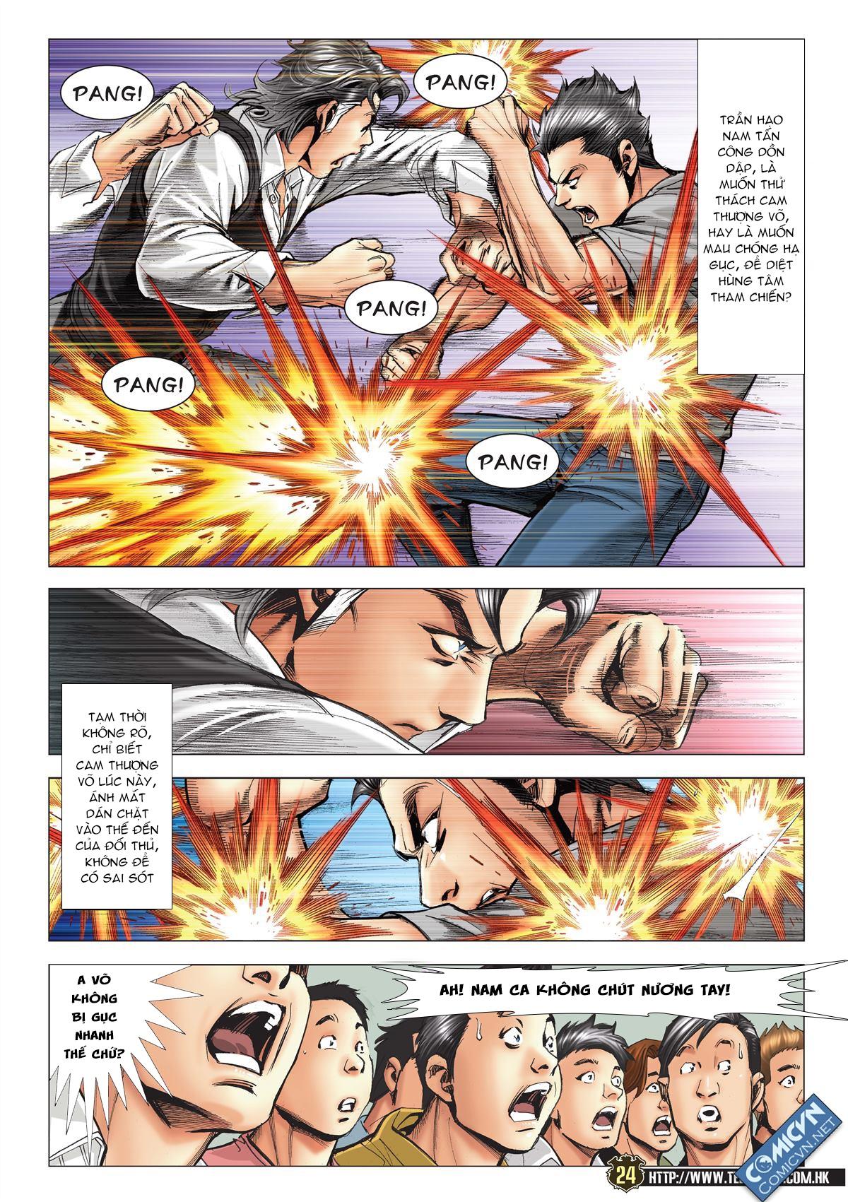 Người Trong Giang Hồ chapter 2119: nam ca vs thượng võ trang 23