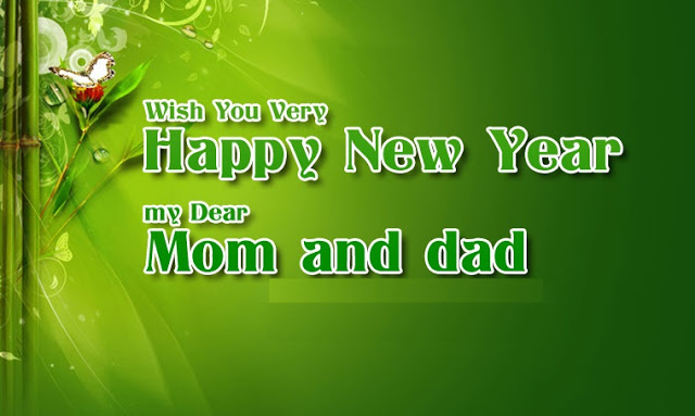 Happy New Year 2017 Wishes for Parents