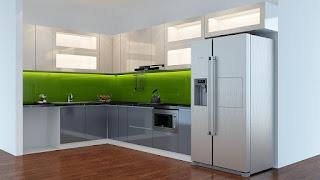 Tủ bếp Acrylic HP16