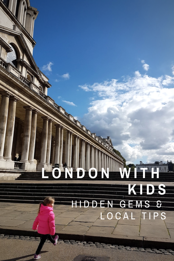 Unusual and less-known family days out in London and places to visit with kids in London - top tips for hidden gems from Londoners!