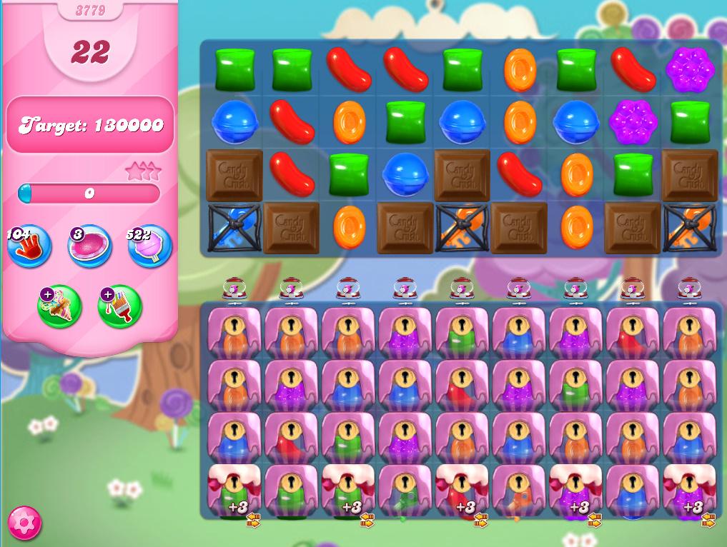 Candy Crush Saga level 3779