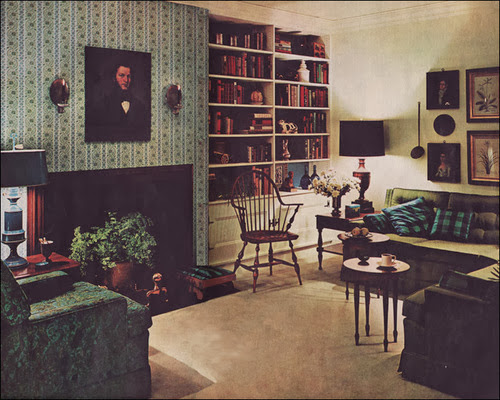Inspirations 60s interior design - 1950 s living room decorating ideas ...