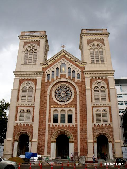 CATEDRAL DE LA ASUNCIÓN, BANGKOK. TAILANDIA