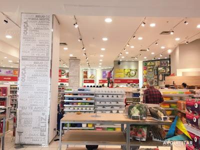 projeto arquitetura interiores loja utilidades lar