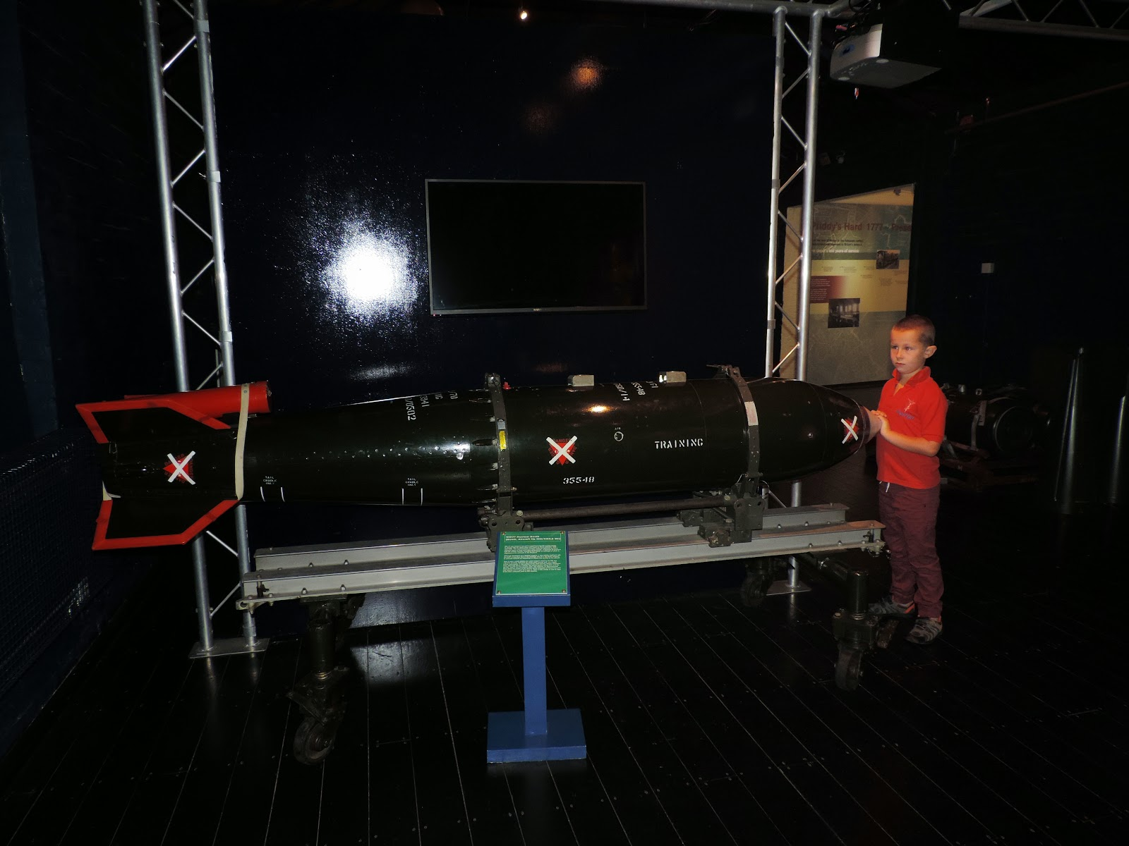 nuclear weapon naval firepower museum priddys hard gosport