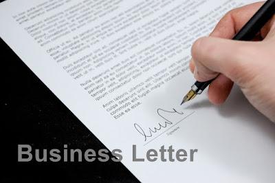 DBI | Business Letter