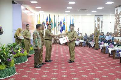 Naik, Total DIPA Lampung 2019 Senilai 9,9 Triliun Rupiah