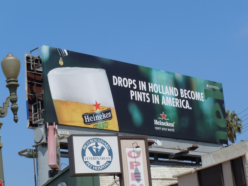 Heineken Holland drops billboard