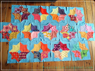 Missourri Star Quilts, double square star, Puppilalla, Stash Bee, Bee block