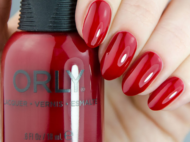 "Orly ""Stiletto On The Run"" swatch"