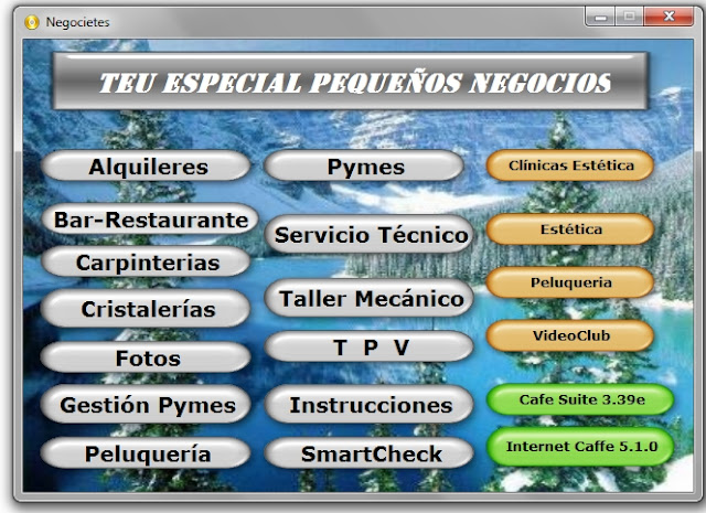 TEU Programas Gestión Contable Pymes Gratuito Pequeños Negocios 2012