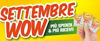 Logo Isola dei Tesori ''Settembre Wow'' : Più Spendi & Più Ricevi