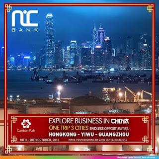 Nic China business trip