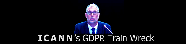ICANN's GDPR Train Wreck (graphic) ©2018 DomainMondo.com