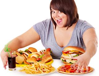 Tips untuk nafsu makan berlebihan