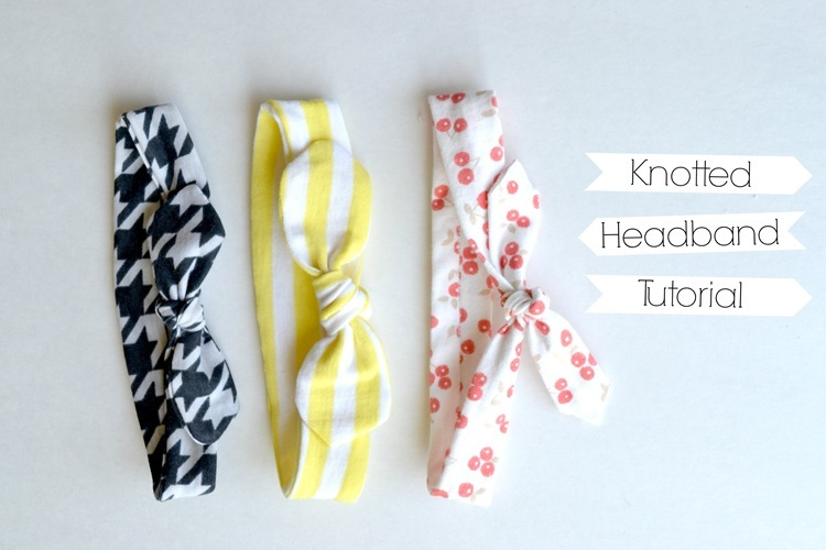 Knotted Headband Tutorial And A Couple More